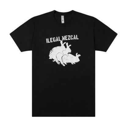 Ilegal Mezcal Merch - Ilegal Rabbits T-Shirt Product Image