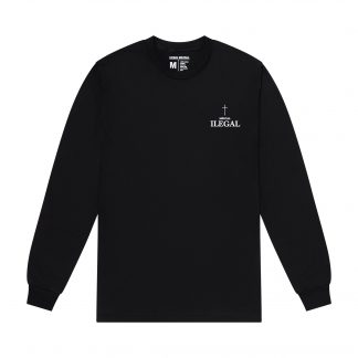 Ilegal Mezcal Merch - Love Your Neighbor Long-sleeve T-Shirt Front