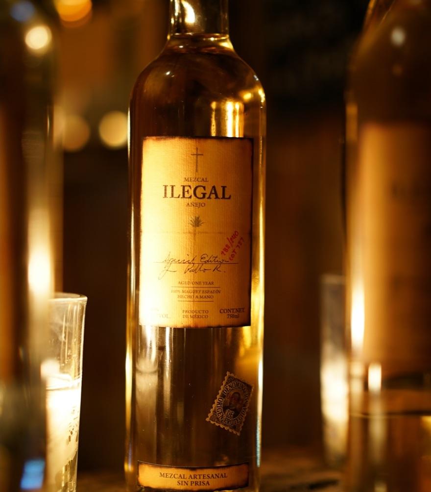 Ilegal Mezcal Anejo Bottle