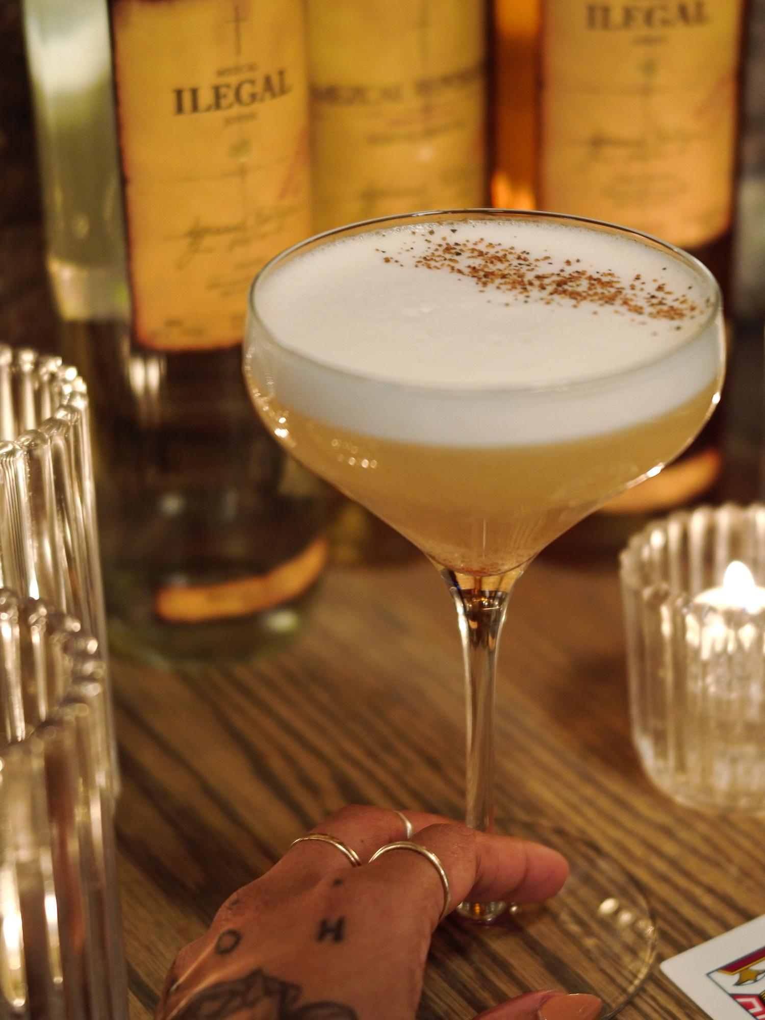 Ilegal Mezcal Cocktails - Pina de Otono