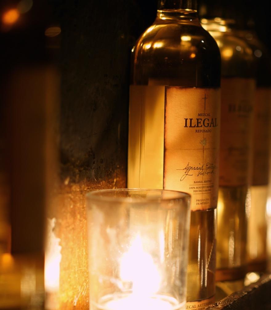 Ilegal Mezcal Reposado Bottle